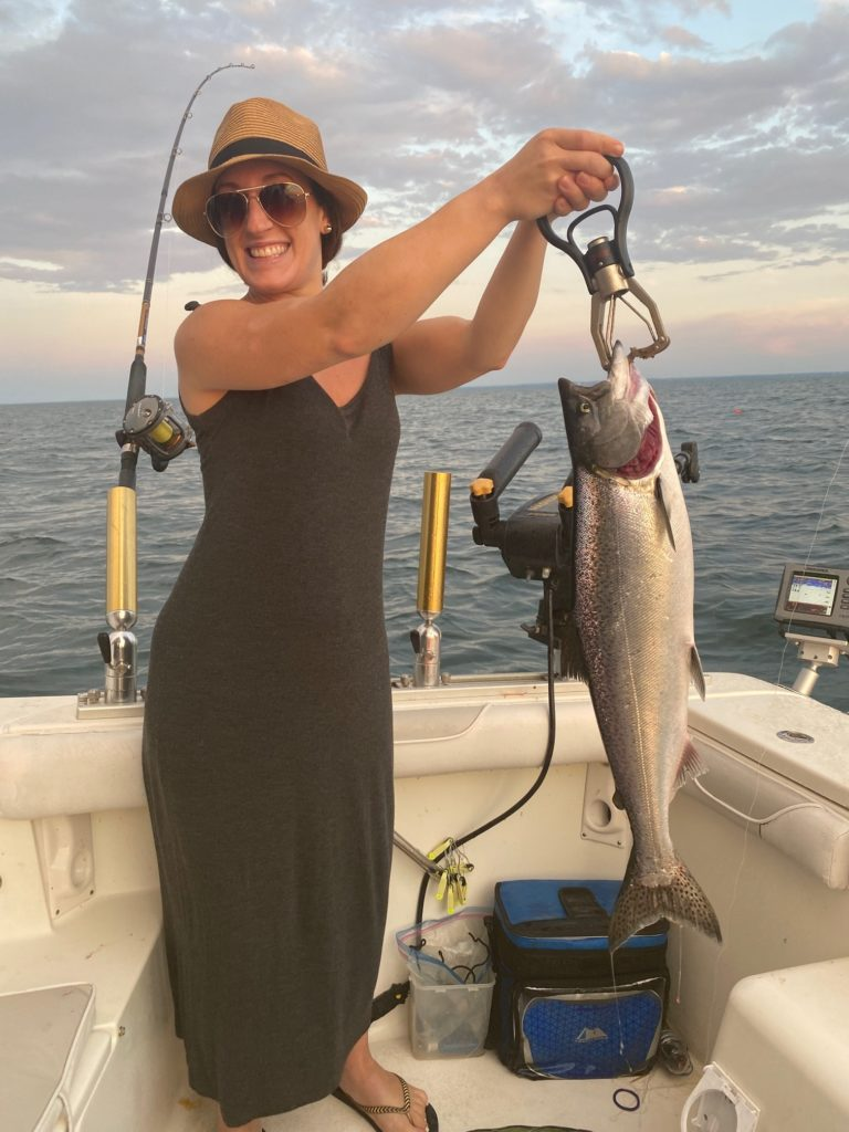 Guided Salmon and Trout Fishing Charters on Lake Ontario | St. Catharines, Ontario image0-768x1024 Services & Rates